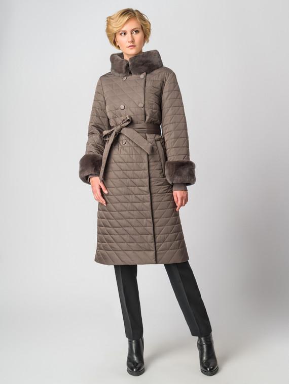 Пуховик текстиль, цвет коричневый, арт. 14006348  - цена 28490 руб.  - магазин TOTOGROUP