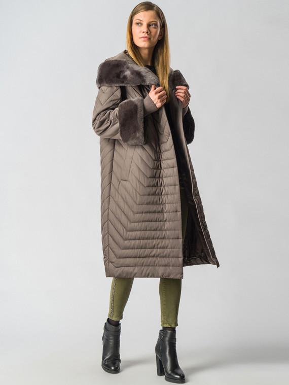 Пуховик текстиль, цвет коричневый, арт. 14006350  - цена 29990 руб.  - магазин TOTOGROUP