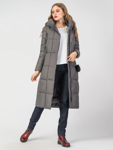 Пуховик текстиль, цвет серый, арт. 14006494  - цена 8990 руб.  - магазин TOTOGROUP