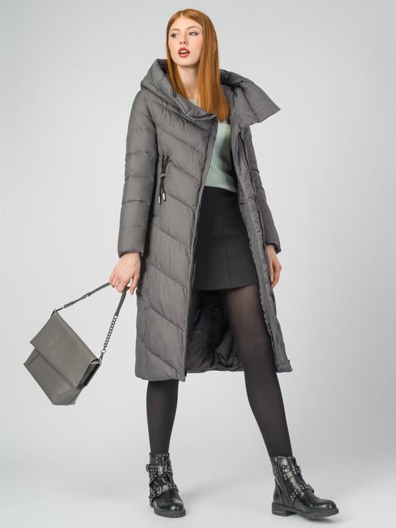 Пуховик текстиль, цвет серый, арт. 14006501  - цена 6990 руб.  - магазин TOTOGROUP