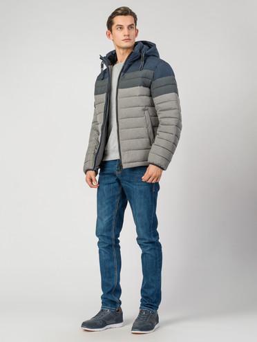 Пуховик текстиль, цвет серый, арт. 14006514  - цена 5890 руб.  - магазин TOTOGROUP
