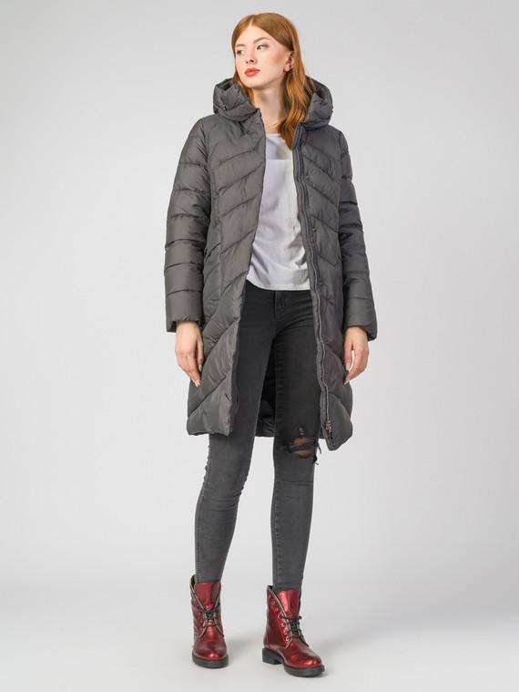 Пуховик текстиль, цвет серый, арт. 14006546  - цена 7990 руб.  - магазин TOTOGROUP
