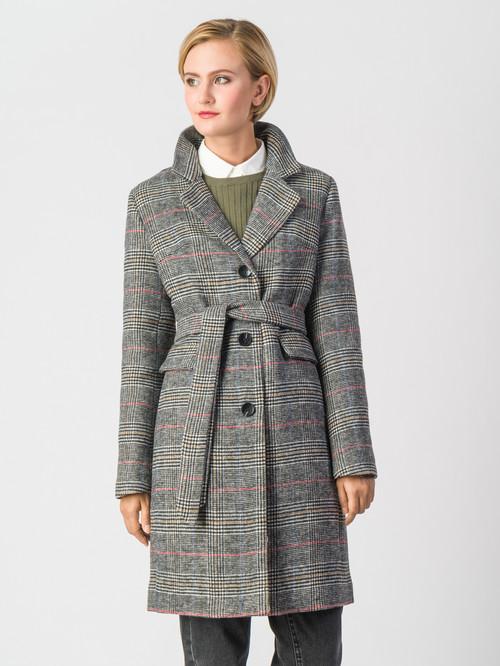 Текстильное пальто артикул 14006602/42 - фото 2
