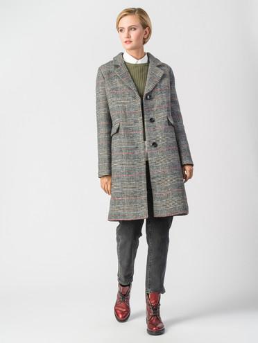 Текстильное пальто 30%шерсть, 70% п\а, цвет серый, арт. 14006602  - цена 7490 руб.  - магазин TOTOGROUP