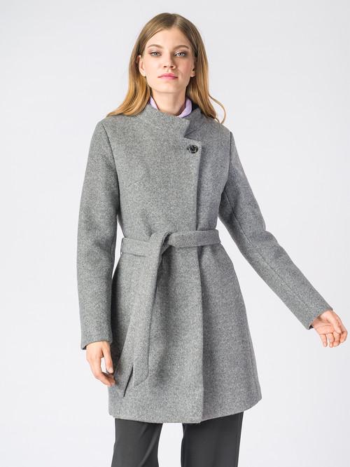 Текстильное пальто артикул 14006607/42 - фото 2