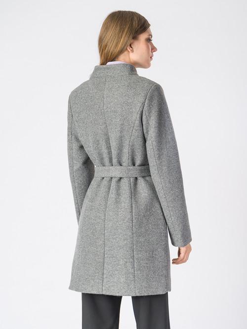 Текстильное пальто артикул 14006607/42 - фото 3