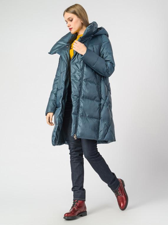 Пуховик текстиль, цвет бирюзовый, арт. 14006659  - цена 7990 руб.  - магазин TOTOGROUP
