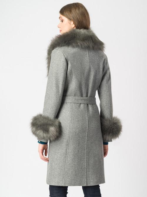 Текстильное пальто артикул 14006821/44 - фото 3