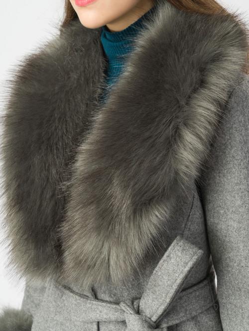 Текстильное пальто артикул 14006821/44 - фото 4