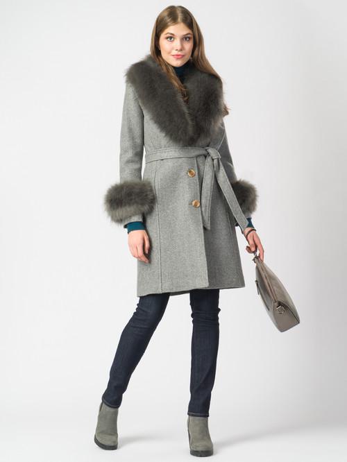 Текстильное пальто артикул 14006821/44