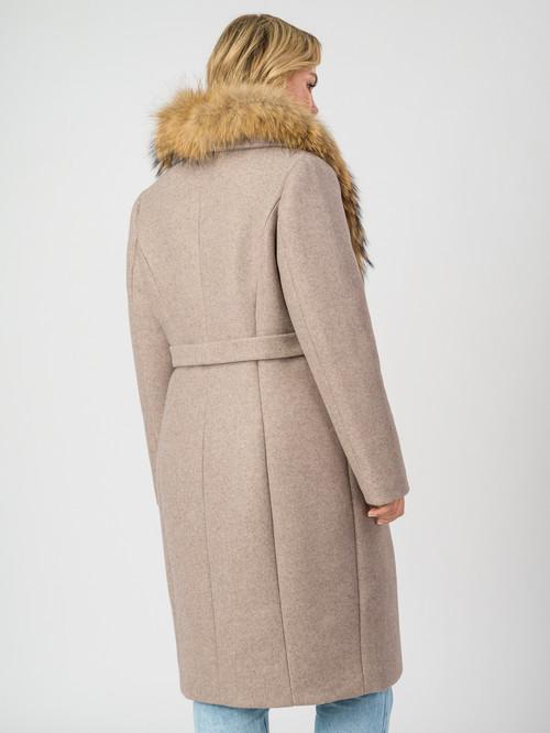Текстильное пальто артикул 14007104/48 - фото 3