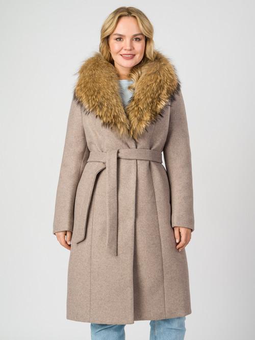 Текстильное пальто артикул 14007104/48
