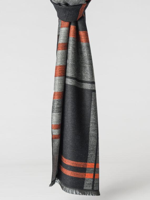 Шарф 100% кашемир, цвет серый, арт. 14007166  - цена 1130 руб.  - магазин TOTOGROUP