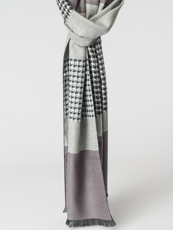 Шарф 100% кашемир, цвет серый, арт. 14007170  - цена 1130 руб.  - магазин TOTOGROUP