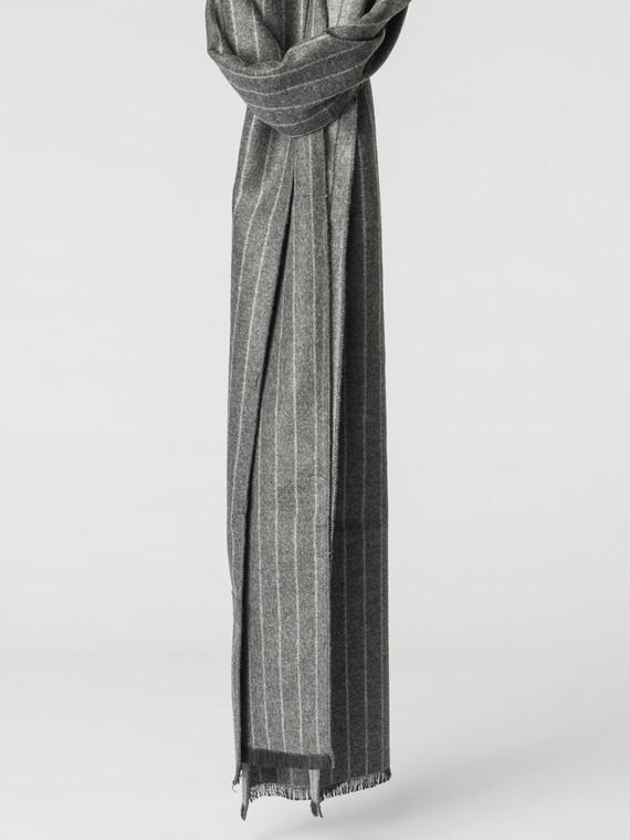 Шарф 100% кашемир, цвет серый, арт. 14007171  - цена 1130 руб.  - магазин TOTOGROUP