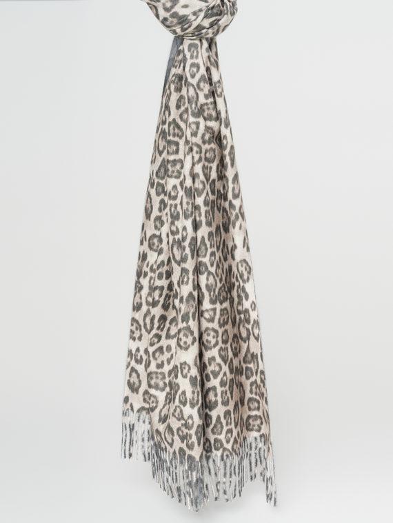 Шарф 30%хлопок,70%кашемир, цвет серый, арт. 14107787  - цена 1190 руб.  - магазин TOTOGROUP
