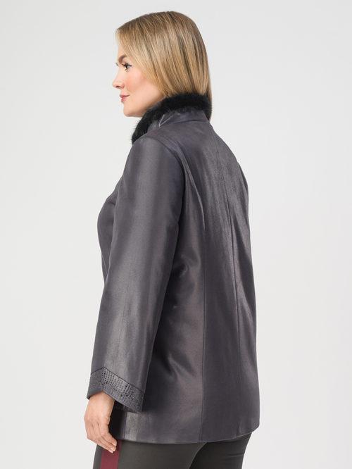Кожаная куртка артикул 14108115/46 - фото 3