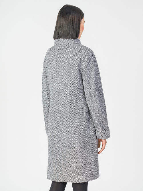 Текстильное пальто артикул 14108193/42 - фото 3