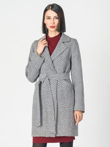 Текстильное пальто 30%шерсть, 70% п.э, цвет серый, арт. 14108194  - цена 3390 руб.  - магазин TOTOGROUP
