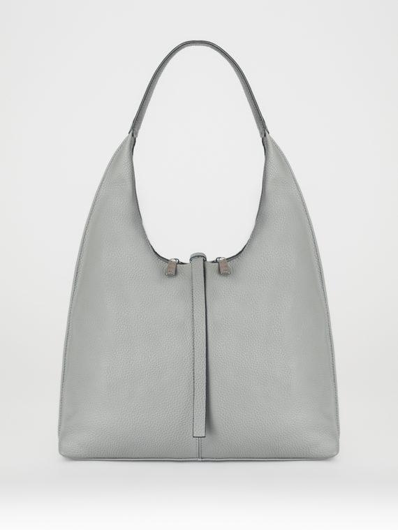Сумка кожа теленок, цвет серый, арт. 14108263  - цена 3790 руб.  - магазин TOTOGROUP