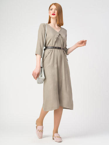 Платье 100% вискоза, цвет серый, арт. 14108322  - цена 990 руб.  - магазин TOTOGROUP