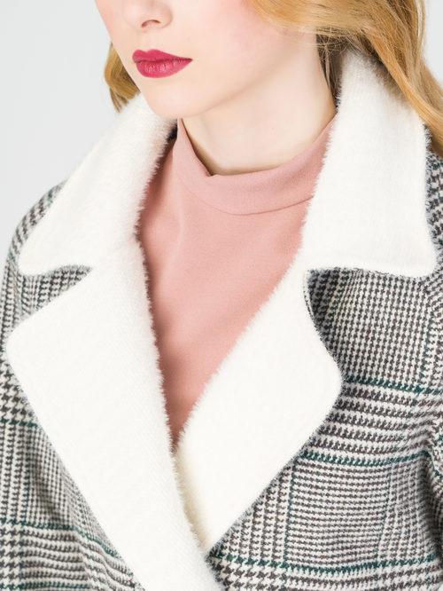 Текстильное пальто артикул 14108373/40 - фото 4