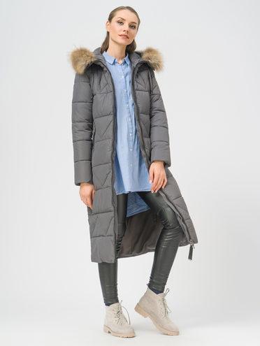 Пуховик текстиль, цвет серый, арт. 14108944  - цена 7490 руб.  - магазин TOTOGROUP