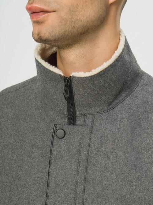Текстильное пальто артикул 14109076/50 - фото 4