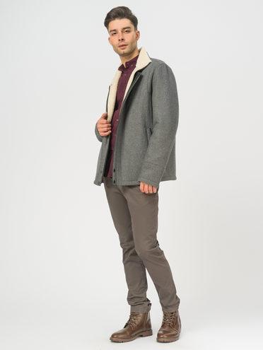 Текстильное пальто , цвет серый, арт. 14109076  - цена 7490 руб.  - магазин TOTOGROUP