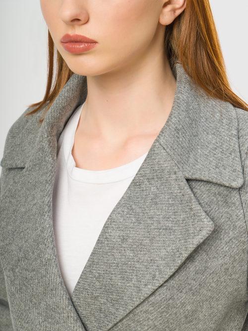 Текстильное пальто артикул 14109086/48 - фото 4