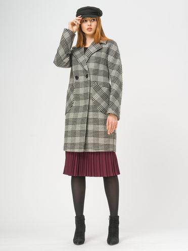 Текстильное пальто 35% шерсть, 65% полиэстер, цвет серый, арт. 14109088  - цена 5290 руб.  - магазин TOTOGROUP