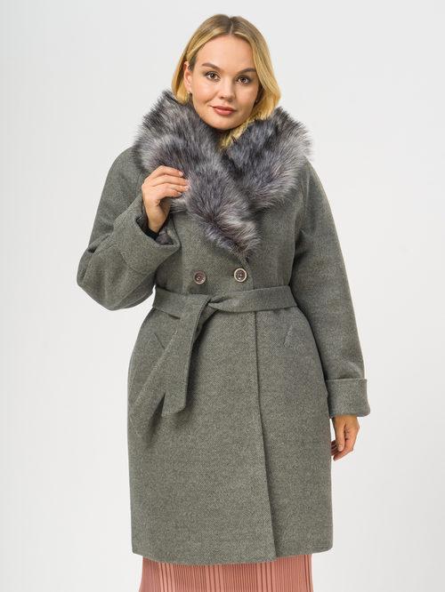 Текстильное пальто артикул 14109100/52 - фото 2