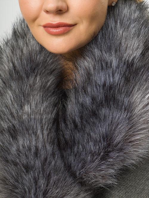 Текстильное пальто артикул 14109100/52 - фото 4