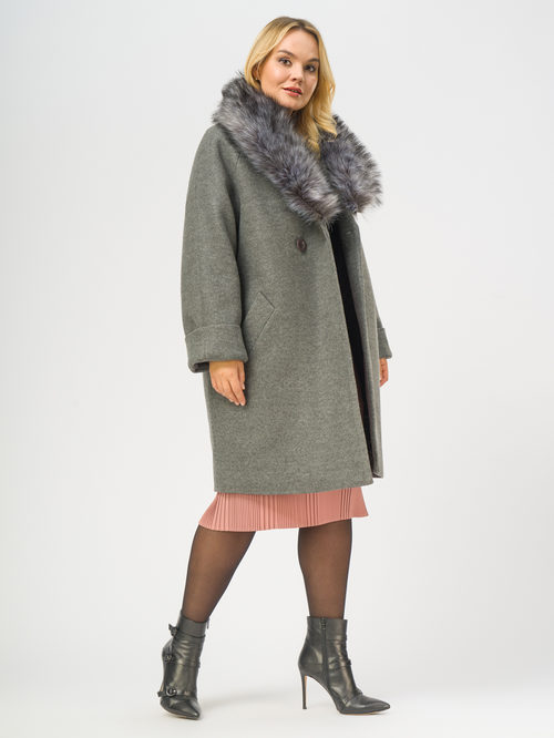 Текстильное пальто артикул 14109100/52