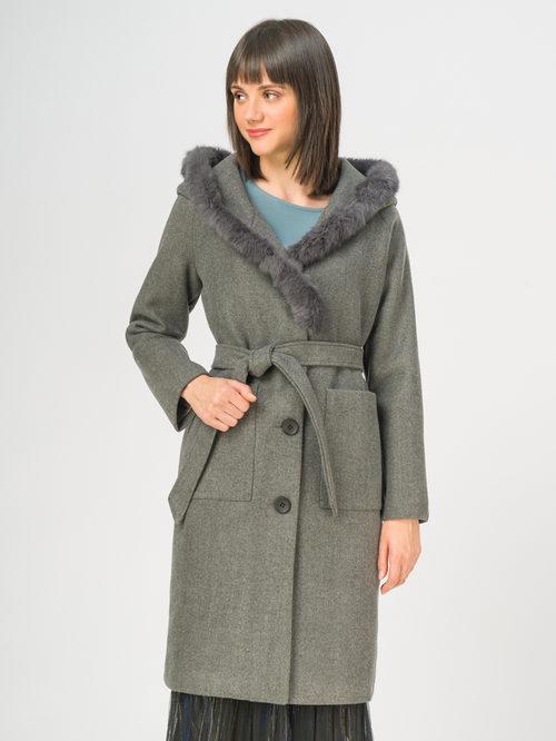 Текстильное пальто артикул 14109128/46 - фото 2