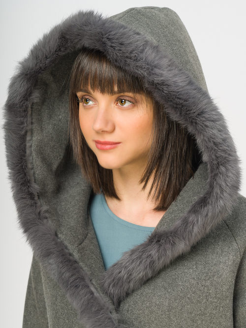Текстильное пальто артикул 14109128/46 - фото 4