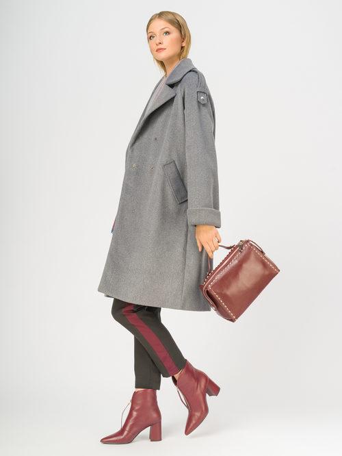 Текстильное пальто артикул 14109133/46 - фото 2