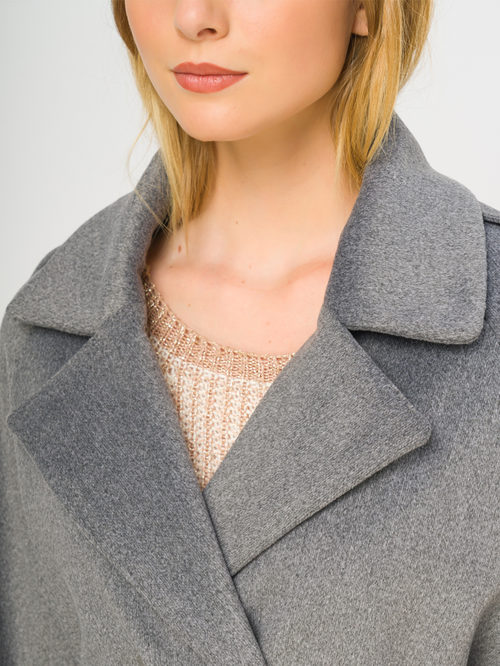 Текстильное пальто артикул 14109133/46 - фото 4