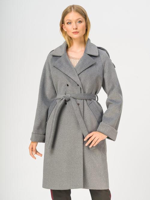 Текстильное пальто артикул 14109133/46
