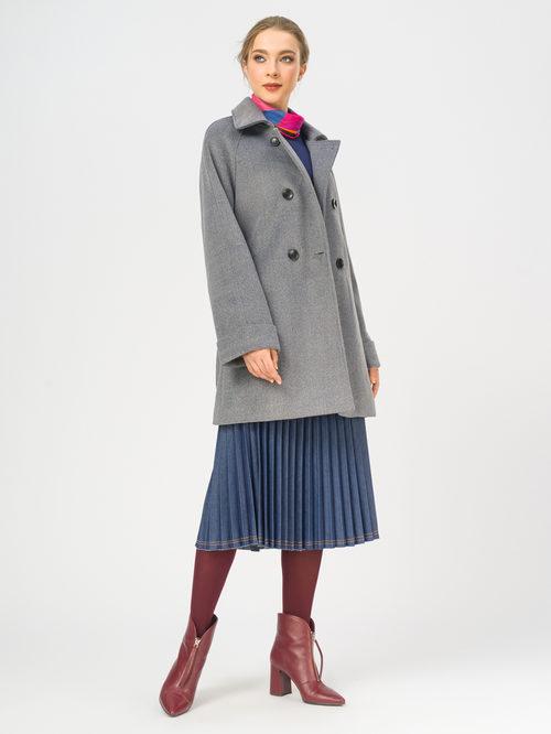 Текстильное пальто артикул 14109251/40 - фото 2