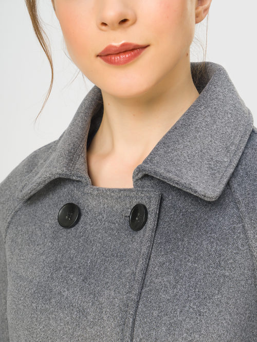 Текстильное пальто артикул 14109251/40 - фото 4