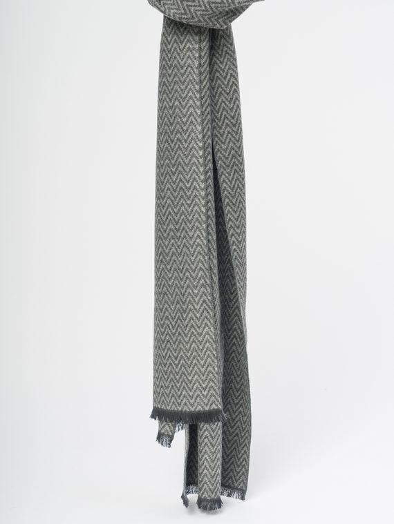 Шарф , цвет серый, арт. 14109695  - цена 890 руб.  - магазин TOTOGROUP