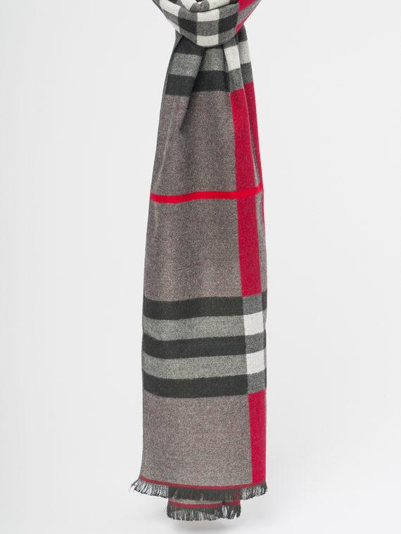 Шарф , цвет серый, арт. 14109700  - цена 590 руб.  - магазин TOTOGROUP