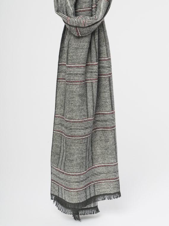 Шарф , цвет серый, арт. 14109707  - цена 890 руб.  - магазин TOTOGROUP