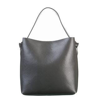 Сумка кожа теленок, цвет серый, арт. 14700535  - цена 5990 руб.  - магазин TOTOGROUP