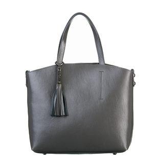 Сумка кожа теленок, цвет серый, арт. 14700536  - цена 5990 руб.  - магазин TOTOGROUP