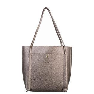 Сумка эко кожа 100% П/А, цвет серый, арт. 14700549  - цена 2550 руб.  - магазин TOTOGROUP