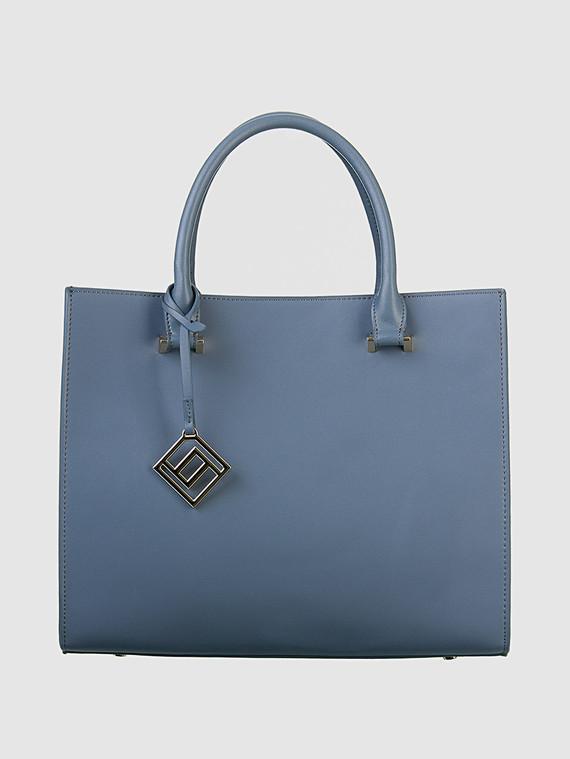 Сумка кожа теленок, цвет голубой, арт. 14700568  - цена 4990 руб.  - магазин TOTOGROUP