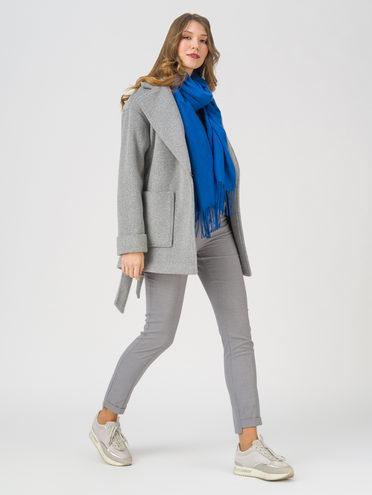 Текстильная куртка 35% шерсть, 65% полиэстер, цвет серый, арт. 14711396  - цена 3990 руб.  - магазин TOTOGROUP