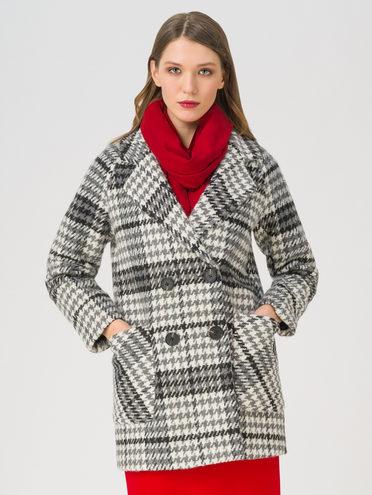 Текстильная куртка 35% шерсть, 65% полиэстер, цвет серый, арт. 14711400  - цена 5590 руб.  - магазин TOTOGROUP